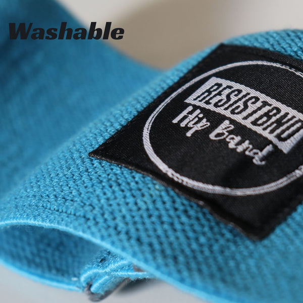 Fabric Resistance Bands - Blue Hip Band - Washable