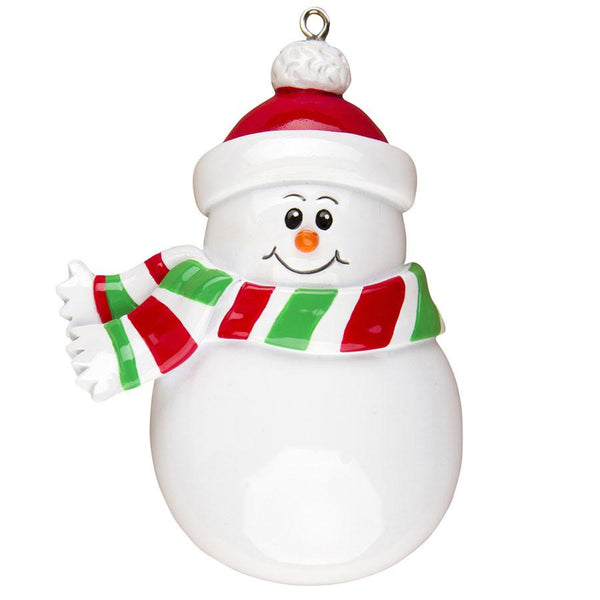 OR1309 - Snowman Personalised Christmas Decoration
