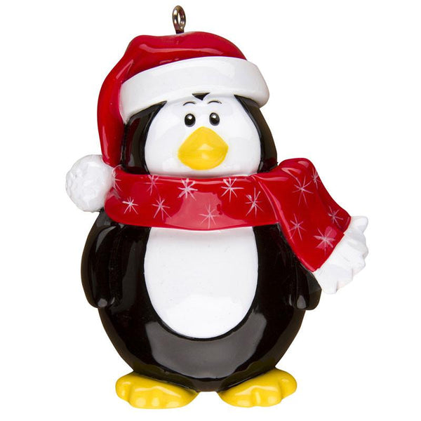OR1310 - Penguin Character Personalised Christmas Decoration