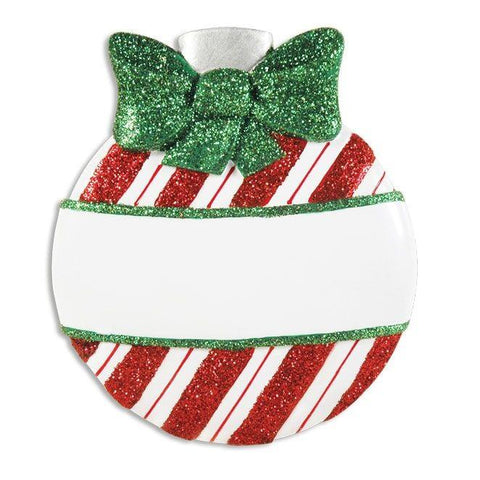 OR1434-A - Christmas Ball Assortment Personalised Christmas Decorations