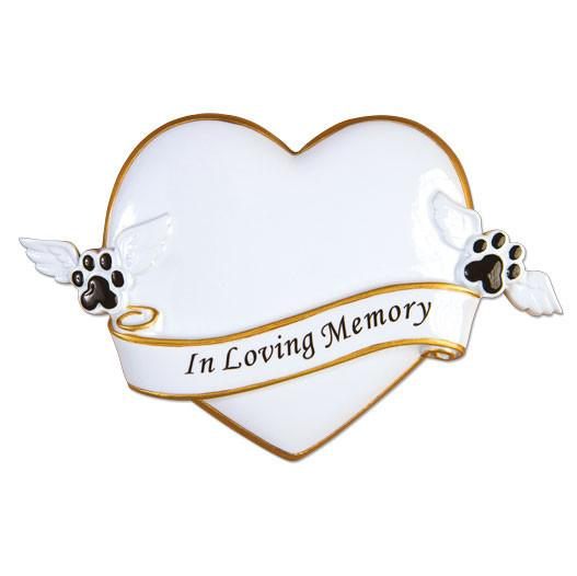 OR1482 - R.I.P Memorial Personalised Christmas Decoration