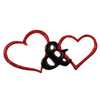 OR1507 - Two Hearts Christmas Ornament