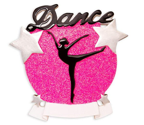 OR1581 - Dance Silhouette Personalised Christmas Decoration