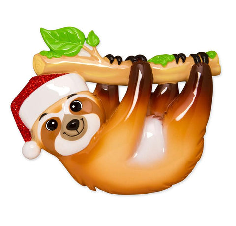 OR1594 - Sloth Personalised Christmas Decoration