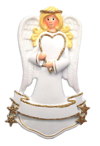 OR1635 - New Angel Personalised Christmas Decoration