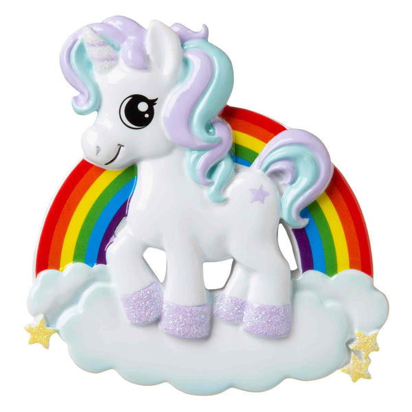 OR1652 - Unicorn Personalised Christmas Decoration