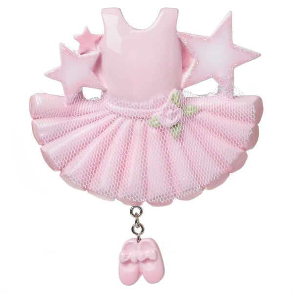 OR1661 - Ballerina Outfit Personalised Christmas Decoration