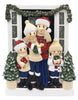 OR2026-4 - Farm House Family of 4 Personalized Christmas Decoration