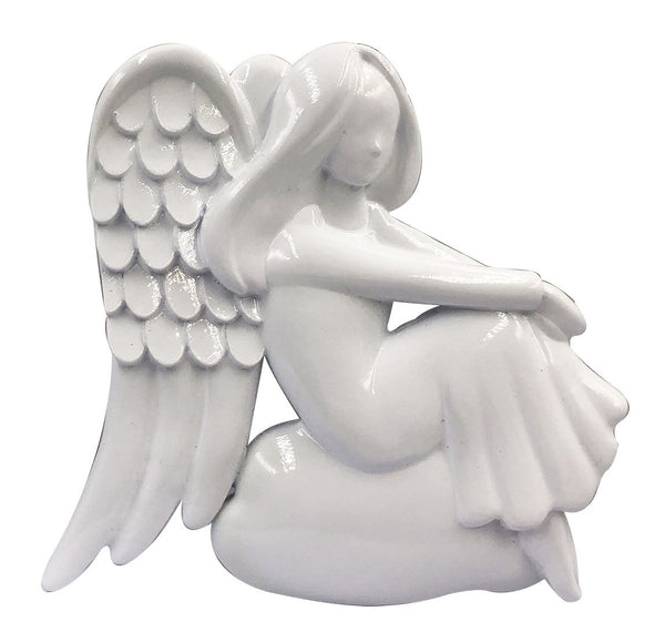 OR2124 - Sitting Modern Angel Personalized Christmas Decoration