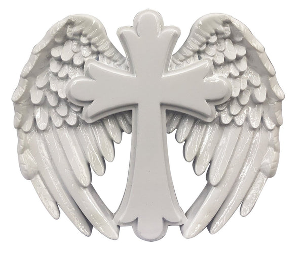 OR2125 - Cross With Wings Personalized Christmas Decoration