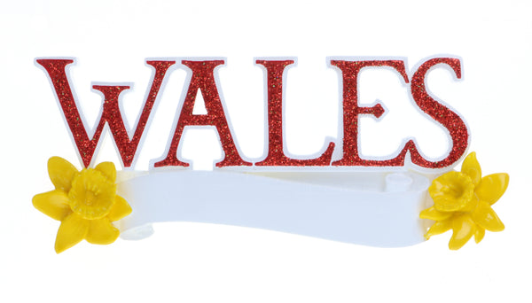 OR2160 - Wales Personalized Christmas Decoration