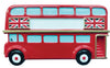 OR2174 - Red London Bus Blank Personalized Christmas Decoration