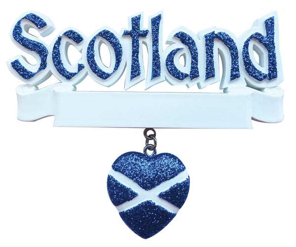 OR2206 - Scotland Personalized Christmas Decoration