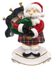 OR2213 - Scottish Santa W/ Bagpipes Personalized Christmas Decoration