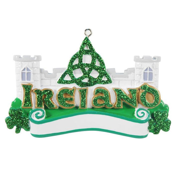 OR414 - Ireland Personalised Christmas Decoration