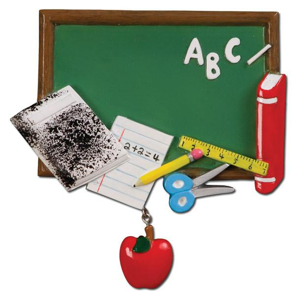OR714 - Blackboard Personalized Christmas Decoration