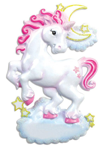 OR813 - Unicorn Personalised Christmas Decoration