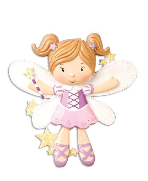OR906 - Fairy Personalised Christmas Decoration
