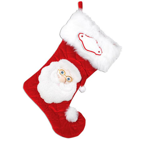 PBS113 SA - Santa Personalised Christmas Stocking