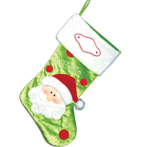 PBS142 SA - Santa Personalised Christmas Stocking