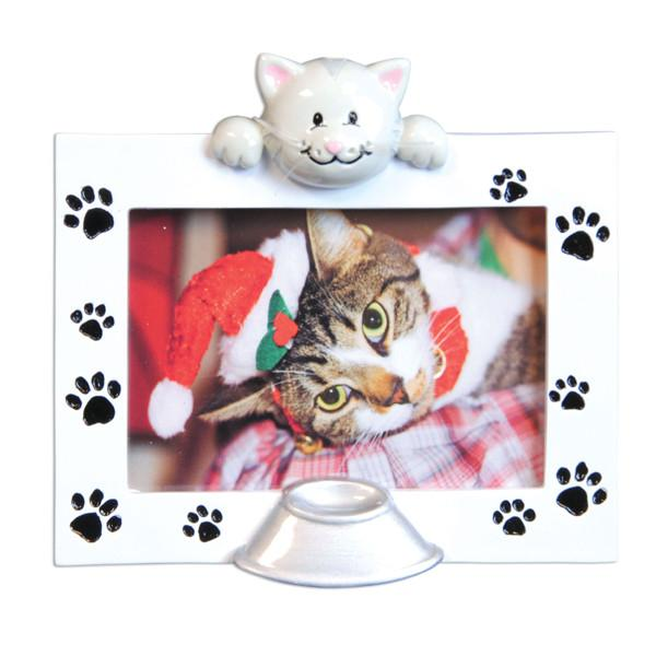 PF1048 - Pet Frame (Cat) Personalized Christmas Decoration