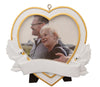 PF1765 - Memorial Heart Photo Frame Personalised Christmas Decoration