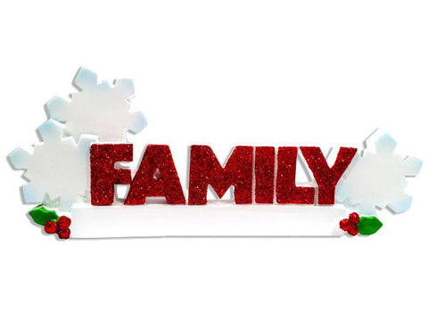 TT1524-3 - Family (3) Table Topper