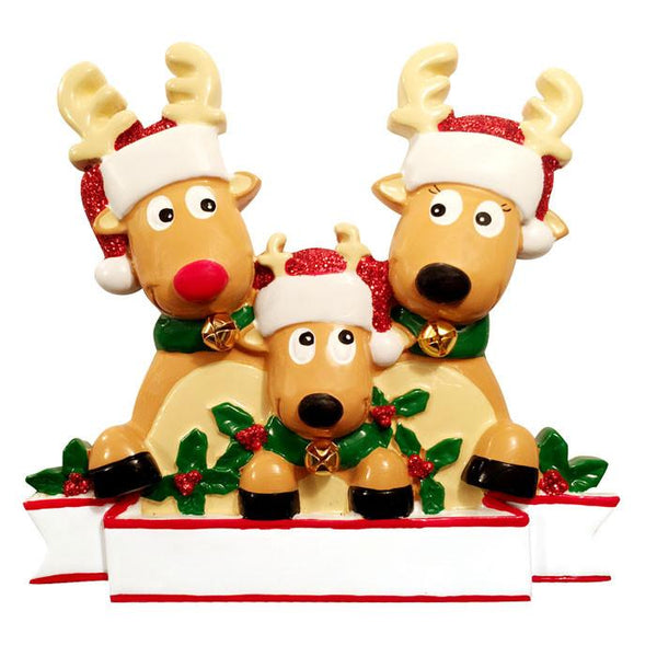 TT1527-3 - New Reindeer (family of 3) Table Topper