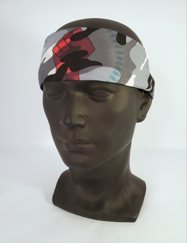 N8V MOVEMENT BANDANA BW CAMO