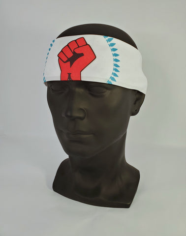 N8V MOVEMENT BANDANA WHITE
