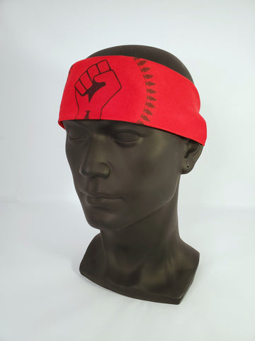 N8V MOVEMENT BANDANA RED