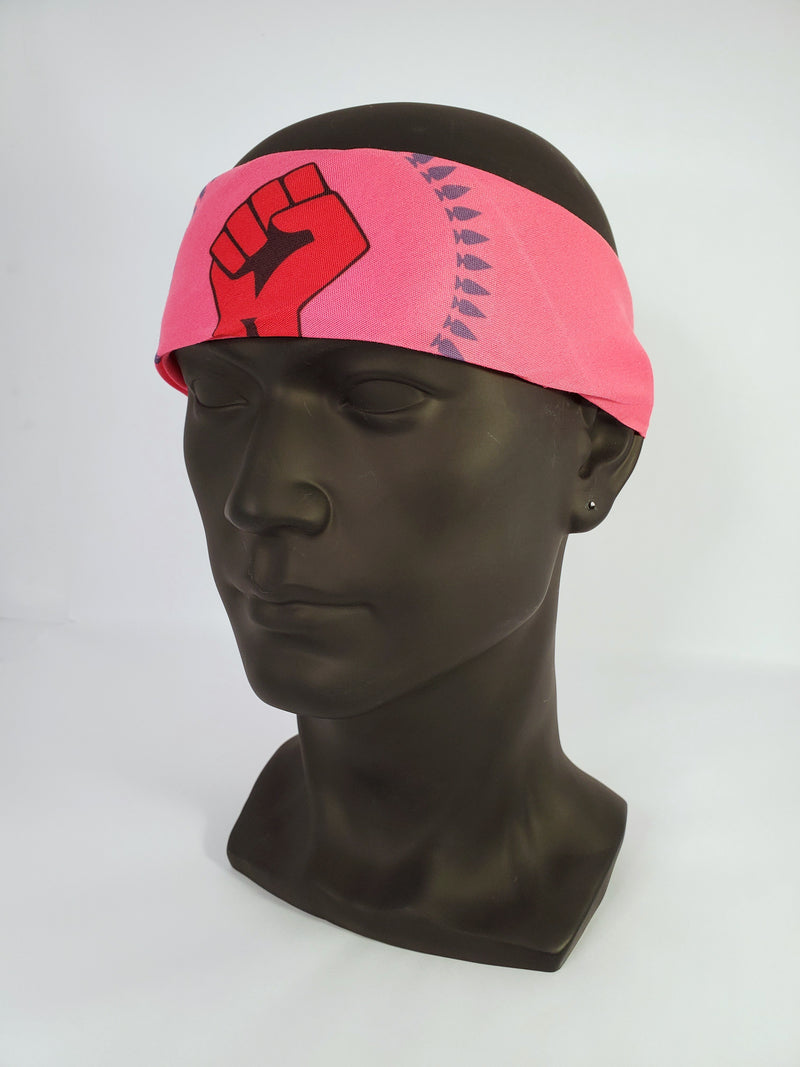 N8V MOVEMENT BANDANA HOT PINK