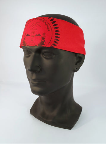 Diné Nation Bandana Red