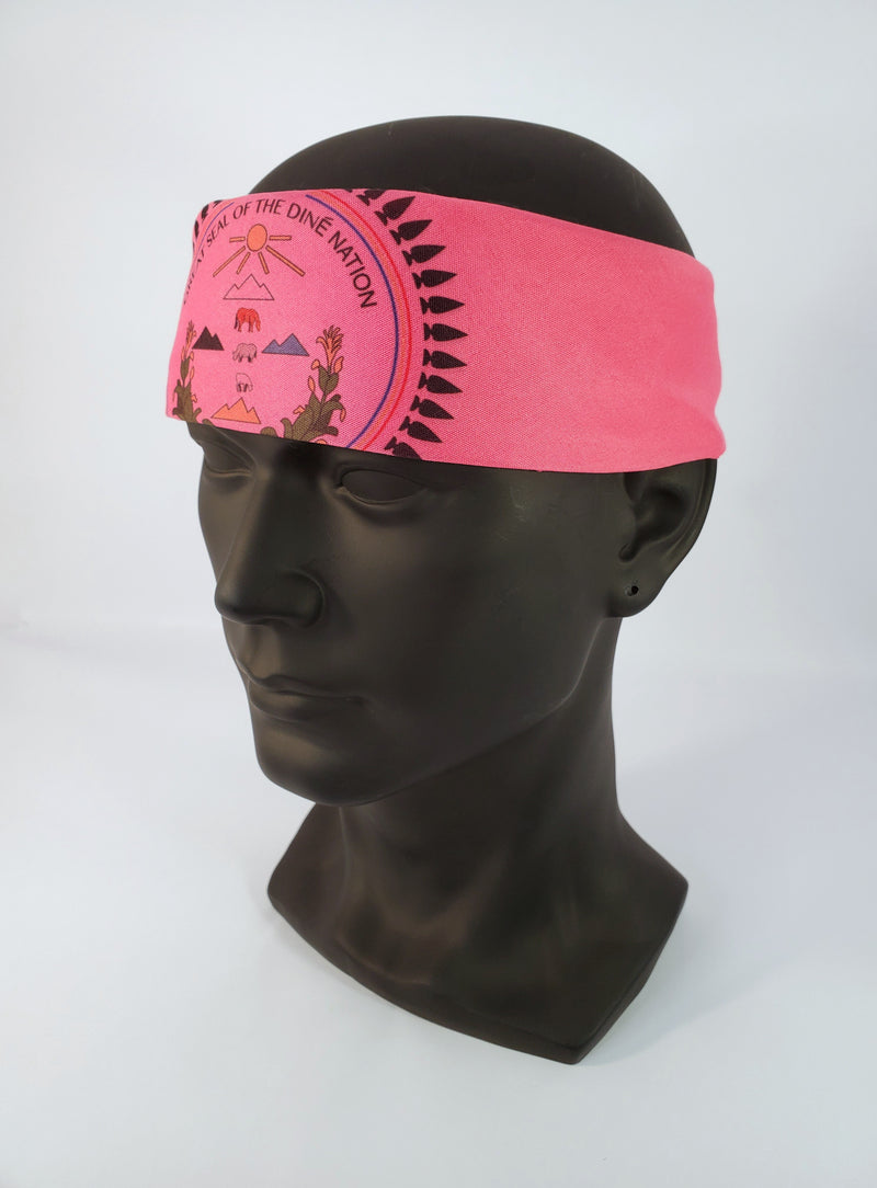 Diné Nation Bandana Pink