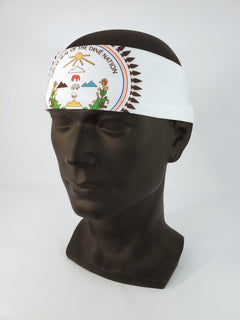 Diné Nation Bandana White