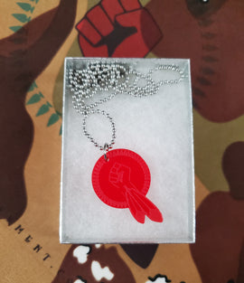 N8V MOVEMENT necklace red