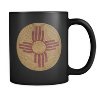 Native Zia Basket 11oz Mug