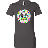 WOMENS Bella Diné Nation Seal Many Colors T-Shirt