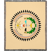 Great Seal of the Diné Nation Woven Blanket