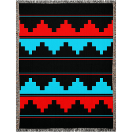 Naabeehó Traditional Woven Blanket