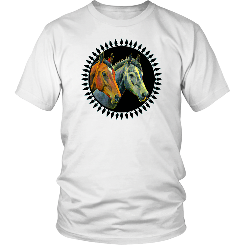 ANIMAL DESIGN HORSES Shirt Unisex