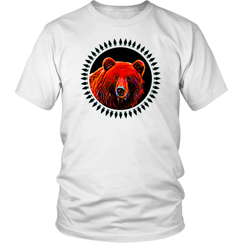 "Bear ""Shash"" Animal Design T-Shirt"