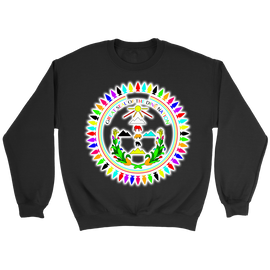 Diné Nation Seal Many Colors Sweatshirt