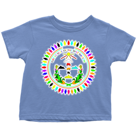 Diné Nation SEAL CUSTOM COLORS TODDLER T-SHIRT