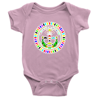 Diné Nation SEAL CUSTOM COLORS BABY ONESIE