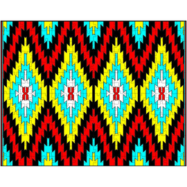 Southwest Color Navajo Rug Puzzle