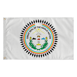 "Diné/Navajo Nation Seal Flag 36"" x 60"""