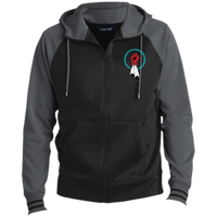 N8V MOVEMENT Men's Sport-Wick® Full-Zip Hooded Jacket