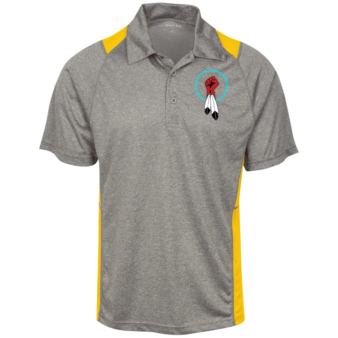 N8V MOVEMENT Moisture Wicking Polo