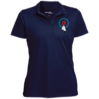 N8V MOVEMENT Women's Micropique Collar Polo